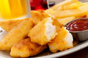 potato chip-crusted halibut - current balance - marion community credit union