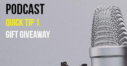Podcast - Quick Tip 1 - Gift Giveaway - Current Balance - Marion Community Credit Union
