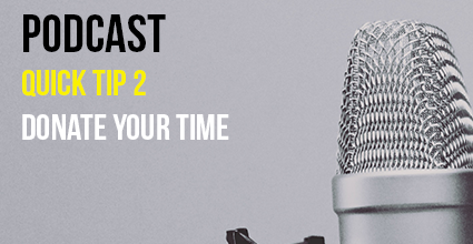 Podcast - Quick Tip 2 - Donate Your Time - Current Balance - Marion Community Credit Union