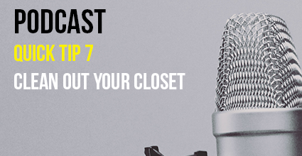 Podcast - Quick Tip 7 - Clean Out Your Closet - Current Balance - Marion Community Credit Union
