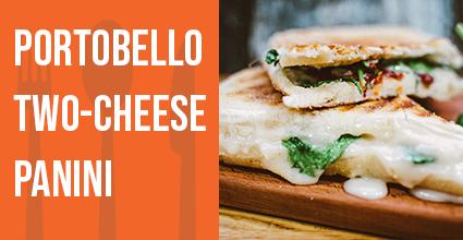Recipe - Portobello Two-Cheese Panini